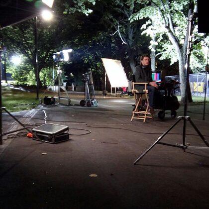 scene set up