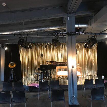 Oratorio stage lighting